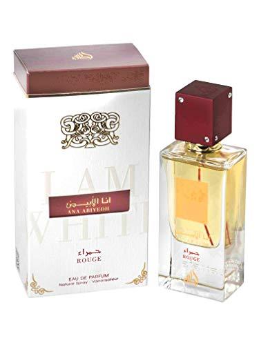 Wunderschönes Ana Abiyedh Rouge Parfüm, 60 ml, Unisex, Safran, Zeder, Ambergris Aroma, perfektes Geschenk