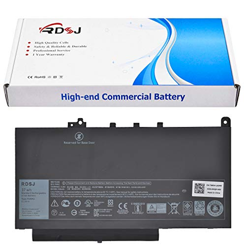PDNM2 11.1V 37Wh Battery for Dell Latitude E7470 E7270 Series 579TY 0F1KTM