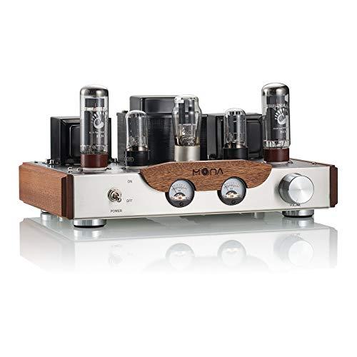Nobsound®, amplificatore tubolare EL34 per stereo HiFi 2.0 Channel, di classe A, a terminale singolo, potenza di 8 W + 8 W