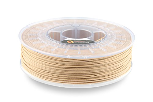 "Fillamentum Timber Fill""Light Wood Tone"" 2.85mm 3D Printer Wood Filament 0.75kg Spool (1.65 lbs), Diameter Tolerance +/- 0.05mm"