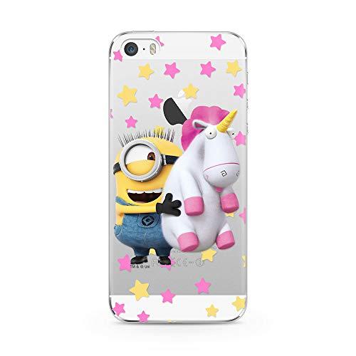Ert Group DWPCMINS12308 Custodia per Cellulare Minions 030 iPhone 5/5S/SE