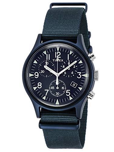 [タイメックス] 腕時計 MK1アルミニウムクロノ TW2R67600 メンズ 正規輸入品 ブルー