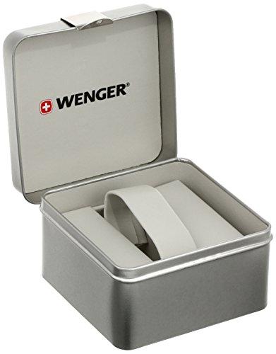 wenger 011051104 Montre Bracelet Homme, Cuir, Couleur: Marron