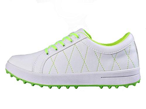 Chaussures de Golf pour Femmes, Chaussures de Golf Légères Imperméables pour Femme