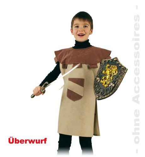 Ritter Sigurd Oberteil Kinder Kostüm Gr 104/116