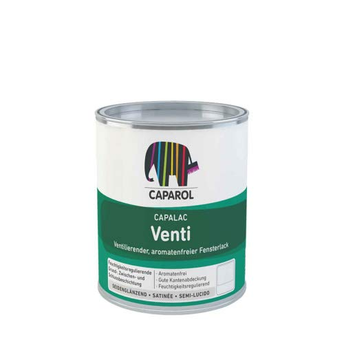 Caparol Capalac Venti weiß 0,75l - Fensterlack Ventilationslack
