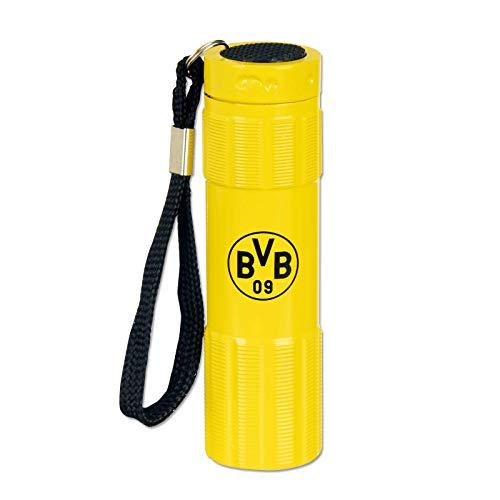 Borussia Dortmund Unisex Bvb-taschenlampe, schwarz, Einheitsgröße