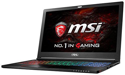 MSI GS63VR-6RF16H22 Notebook i7-6700HQ SSD Full HD GTX1060 Windows 10