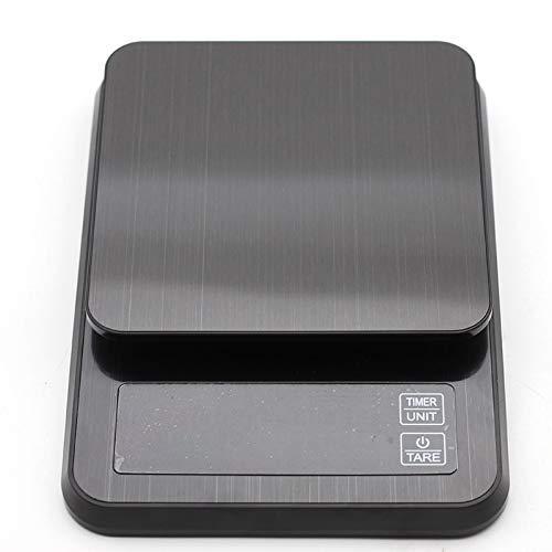 Digitale Küche, 3 kg / 0,1 g, tragbar, elektronisch, USB, mit Zeittasche, LCD-Display, Präzisionsschmuck