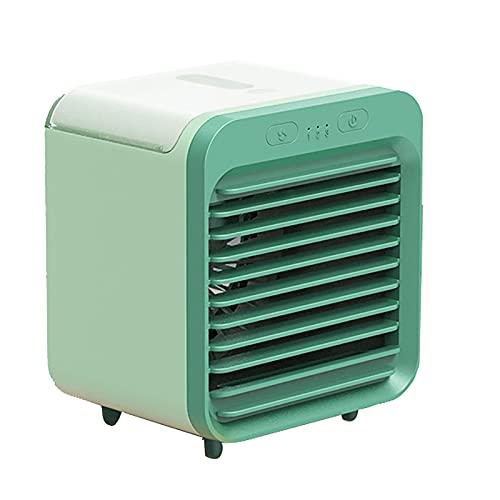 Desktop Fan Air Conditioner, USB Charge Umidificatore di Raffreddamento A 3 velocità, Purificatore d'Aria per Ufficio Casa Portatile,A