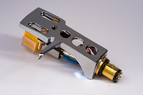 Spiegel Chrom beschichtet Schale, Halter mit AT Tonabnehmer, Nadel für Optonica, Sharp STY158, RP105H, RP2727H, RP3500, RP3636, RP5200H