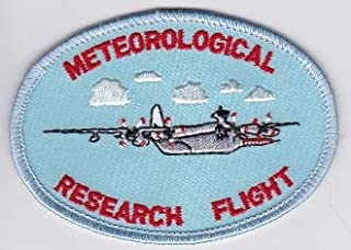PATCHMANIA RAF Patch Meteorological Research Flight MRF C 130 Snoopy Patch 90mm 64mm Parches Bordados THERMOADHESIVE Patch