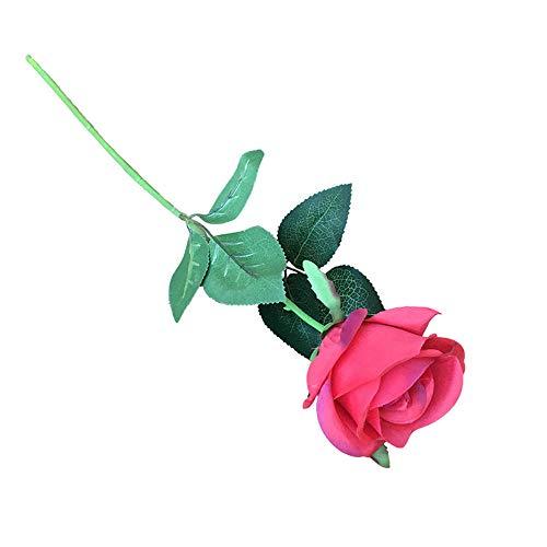 Kedavra Arts Finta Finte Eeta Artificiale Fiori Piante Sempreverdi Decorazione Rose Cremisi Mano Fiore Disposizione Hotel Matrimonio Floreale Sposa Festa della Mamma Regalo Festa in Ufficio 20 Pezzi