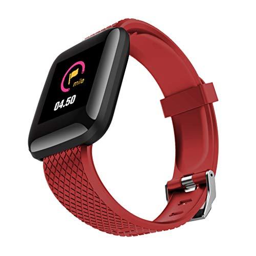 #N/A/a Reloj Inteligente Monitor de Cardíaco Pulsera Pulsera Deportiva Pantalla - Rojo, 43.5x36x12.3mm