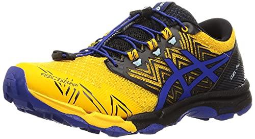 ASICS Gel-Fujitrabuco Sky, Zapatillas de Running Hombre, Sunflower Monaco Blue, 43.5 EU