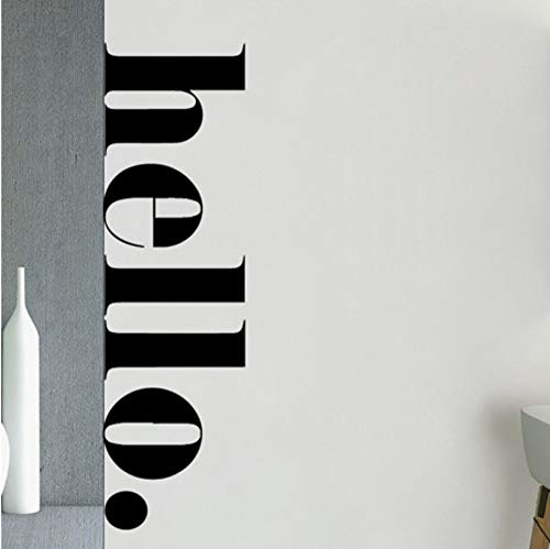 Nordic Hello Quotes Wall Stickers Art Vinyl For Kids Room Bedroom Decor Mural Wall Decal Room...