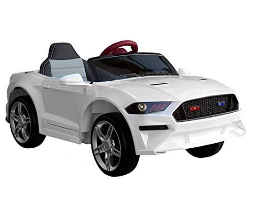 Kinder Elektroauto GT Raptor White Sports Cabrio Racer 12 V Kinderfahrzeug Kinderauto elektrisch