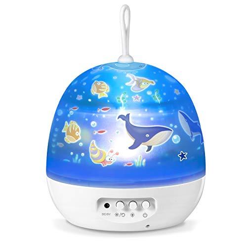Sternenhimmel Projektor Baby Nachtlichter Projektor Lampe Sternenhimmel Lampe Schlafzimmer Lichter für Kinder Babys,Geschenke für Geburtstag Weihnachten usw.