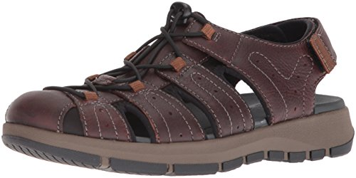CLARKS Men's Brixby Cove Fisherman Sandal