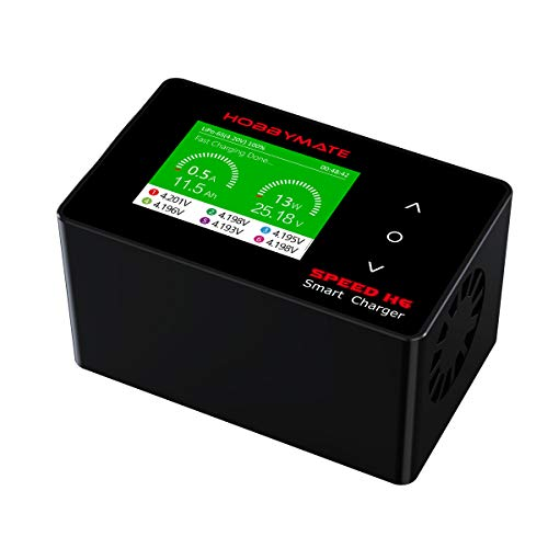 HOBBYMATE Speed H6 AC/DC Lipo Battery Charger, Fast Balance Charger 700W/ 26A