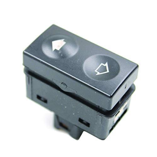 LUOAN AUTO PARTS Interruptor de elevalunas Negro para B/MW E36 318i 318is 325i 325is 61311387387 61 31 1 387 387 1991-1998