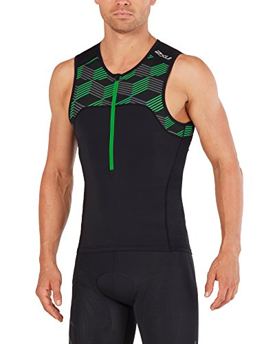 2 x u heren Active Triathlon Singlet