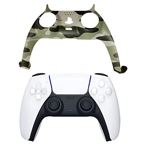 DealMux Guscio di ricambio per controller di gioco per PS5, strisce decorative per conchiglie fai-da-te Gamepad Accessori decorativi di ricambio per custodia per approvazione del pannello del control