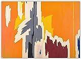 《Ph-972》 Arte abstracto de la lona Pintura al óleo Obra de arte Cartel Imagen Decoración Decoración de la sala de estar del hogar-40cm x 60cm Sin marco