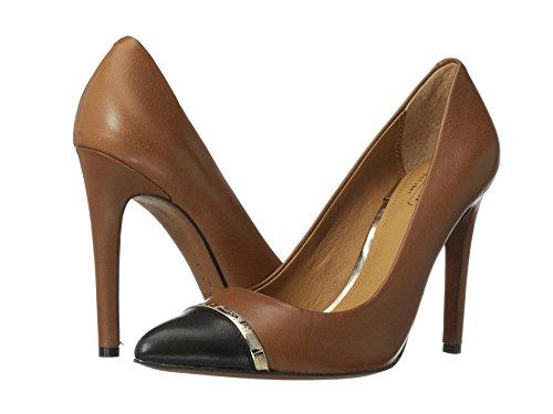 Coach Nacie Womens Leather Pumps Heels Shoes Cinnamon Black Size 11