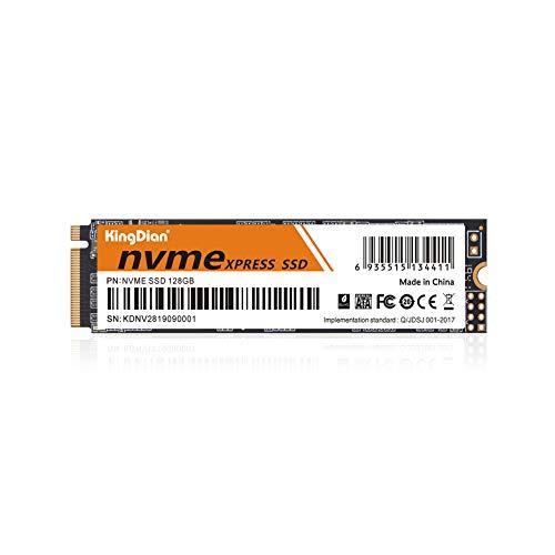 KingDian interne Solid-State-Festplatte (128 GB, 256 GB, 512 GB, 1 TB, PCIe, NVMe M.2 (2280)(128GB)