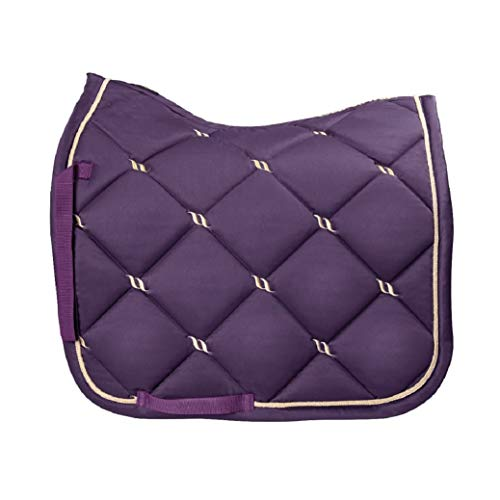 Back on Track® Welltex Nights Collection Saddle Pad Dressage Purple Lila Gr. Full