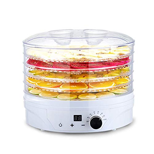 Lowest Prices! IhDFR Food Dryer & Dehydrator - Fruit Dehydrater with Digital Temperature Control & T...
