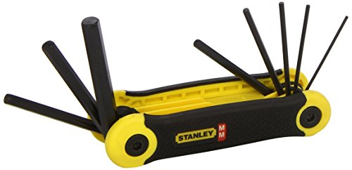 Stanley 269264 Folding Hex Key Set (8 Pieces)