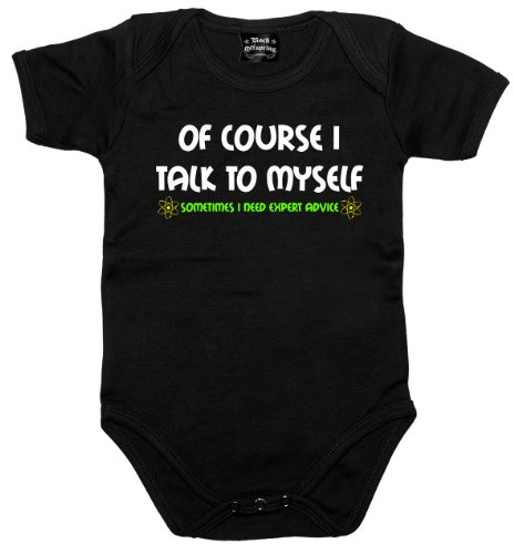 Rock Offspring Expert Advice - Science - Physics - Nerd 700806 Baby Bodysuit 001 12-18months