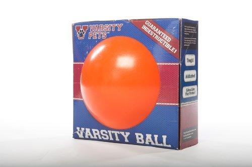 Varsity Pets Basketball Design Dog Toy, Orange