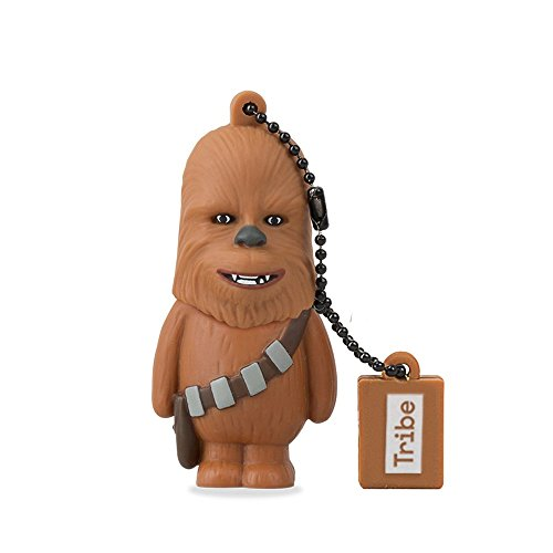 Star Wars Chiavetta USB 8 GB Chewbacca - Memoria Flash Drive 2.0 Originale Disney, Tribe FD007405