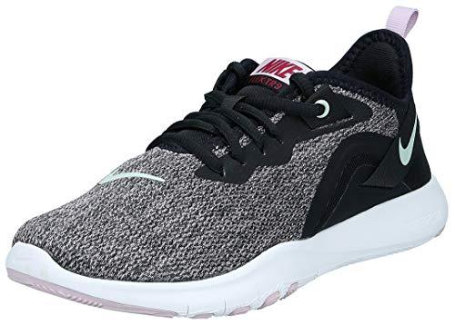 Nike Damen Flex Trainer 9 Laufschuh, Black Pistachio Frost Ice Lilac White, 38 EU