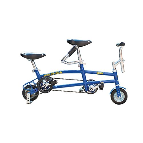 Lowest Price! Qu-Ax Mini Tandem 6 Inch Blue