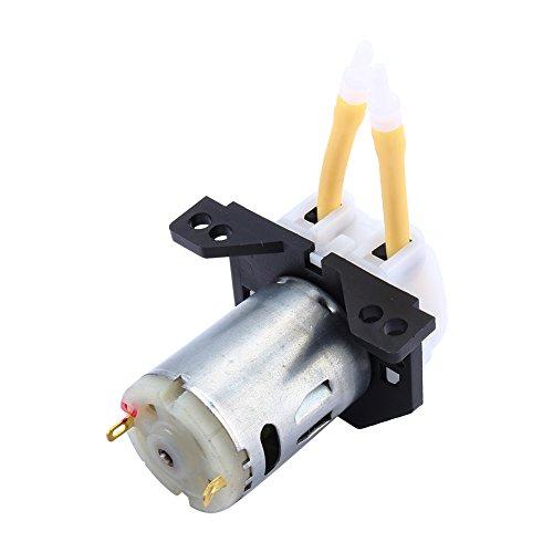 iFCOW 12V 300mA D2 2 * 4 bomba de dosificación cabeza peristáltica para agua química de laboratorio