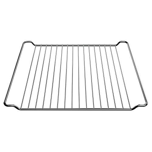 Griglia di ricambio per Whirlpool 481245819334 GRD001, griglia per forno, 448 x 340 mm, griglia in acciaio inox, griglia per forno AKL BMZH BLZH BMZ