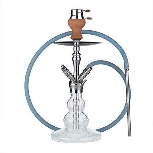 Smokah Shisha Reload Night Blue Edelstahl Glow Bowl Komplett Set
