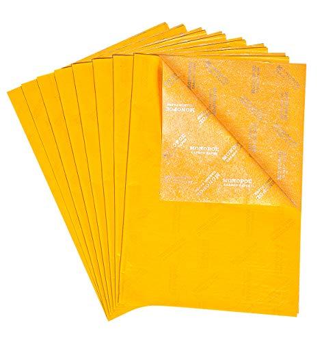 Durchschreibepapier, gelb, 29,7 x 42 cm, 8 Blatt