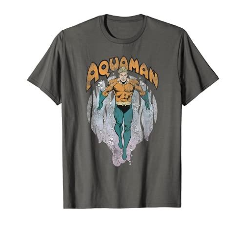 Aquaman From the Depths Camiseta