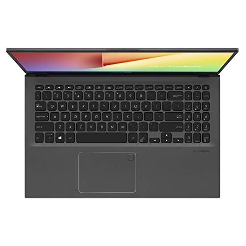 "ASUS VivoBook 15 Thin and Light Laptop, 15.6"" Full HD, AMD Quad Core R5-3500U CPU, 8GB DDR4 RAM, 128GB SSD + 1TB HDD, AMD Radeon Vega 8 Graphics, Windows 10 Home, F512DA-EB55, Slate Gray"