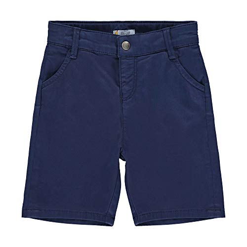 Steiff Bermudas Pantalon, Bleu (Black Iris 3032), 3 Ans Bébé garçon