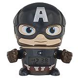 BulbBotz Marvel 2021722 Avengers: Infinity War Captain America Kids Nachtlicht-Wecker mit charakterisiertem Klang