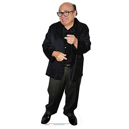 AT TEN Cardboard Cutout Danny DeVito Life Size Cardboard Standup Great Party Decoration Solid Cardboard Print 59 х 18 inches