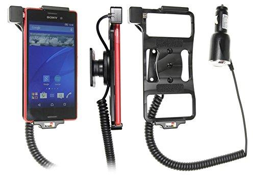 Brodit 512819 - Soporte de Coche para Sony Xperia M4 Aqua con Cargador de Coche con rótula orientable