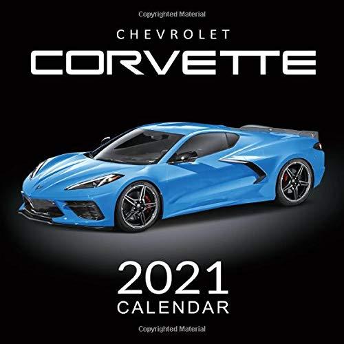 2021 Calendar Chevrolet Corvette: 14-Month Calendar, January 2021 through February 2022, American Muscle Cars Calendar