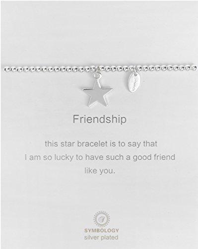 SYMBOLOGY Silver Lining Collection Friendship Star Bracelet 817